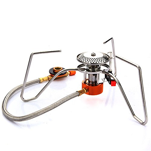 Natural Gas Trip Cooking Stove - Camping Picnic Gas Cooking Stove Butane Burner - Shoot Line Petrol Jaunt Kitchen Gasolene Range Flatulence Change Location Accelerator Pedal - 1PCs by Unknown