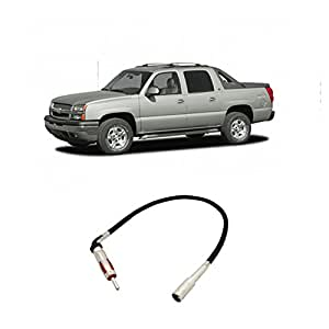 fits chevy avalanche 2002 2006 factory stereo. Black Bedroom Furniture Sets. Home Design Ideas