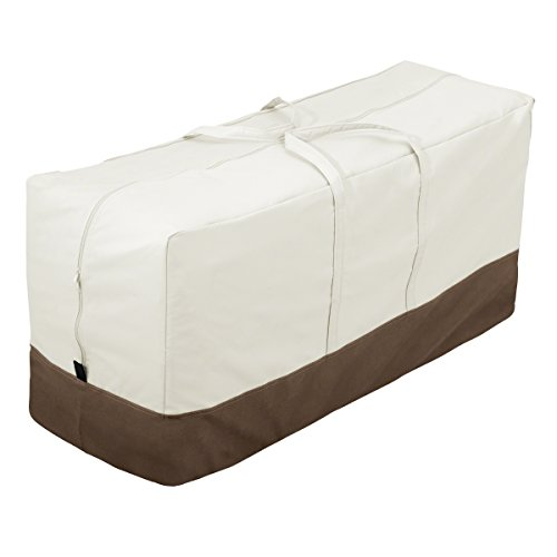 AmazonBasics Patio Furniture Seat Cushion/Cover Storage Bag
