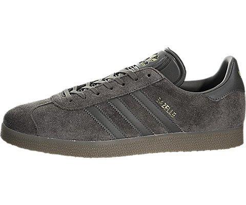 adidas Mens Gazelle Grey Suede Trainers 8.5 US ()