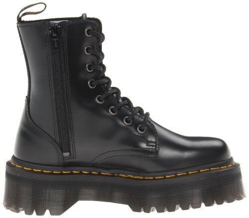 Polished Adults' Dr Jadon Martens Smooth Black Black 001 Brogues Unisex Black Smooth Polished w1Ewvrq