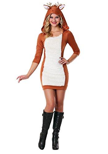 Sexy Deer Costume - XS Brown -