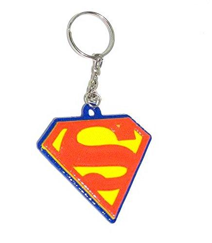 Chaveiro Superman Plástico Impresso Em 3D