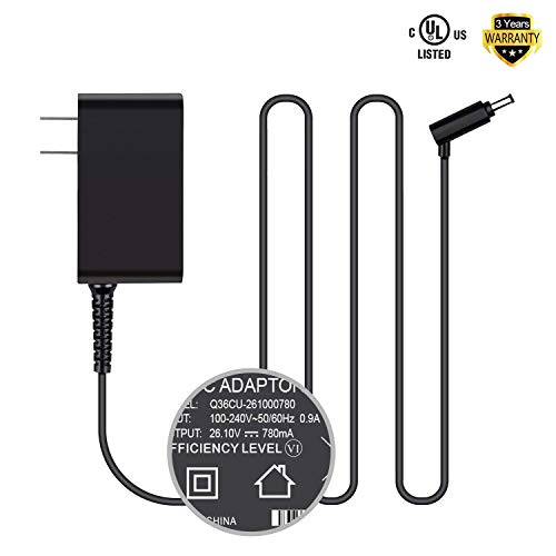 [UL Listed] HKY AC Adapter Replacement for Dyson V6 V7 V8 DC58, DC59, DC60, DC61, DC62, DC72 SV03 SV05 ERP SV06 Cord Free-Handhelds Stick Vacuum Power Supply Cord Charger
