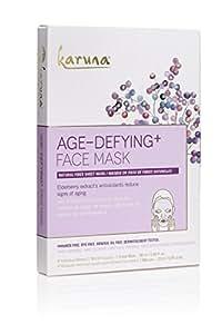 Karuna Age-Defying + Face Mask, Pack of 4, 3.8 fl. oz.