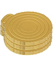 8 inch Cake Circles,15pcs Grease Proof Cardboard Round Cake Boards, Disposable Cake Plate Round for Cake/Pizza Decorating by fun young