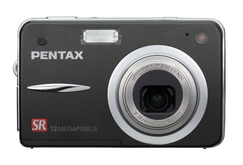 Pentax Optio A40 12MP Digital Camera with 3x Optical Shake Reduction Zoom Pentax Video Cable