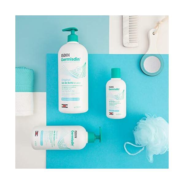ISDIN Germisdin Original Higiene corporal y manos, gel de baño formulado con agentes antisépticos, 1000 ml 8