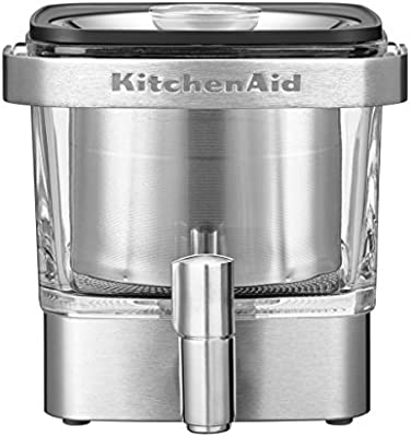 KitchenAid 5 kcm4212sx Cold de Brew - Cafetera, acero inoxidable ...