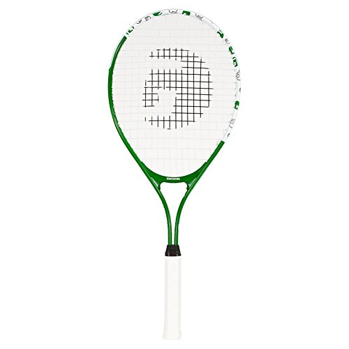 Gamma Sports Junior Tennis Racquet: Quick Kids 25 Inch Tennis Racket – Prestrung Youth Tennis Racquets for Boys and Girls – 93 Inch Head Size – Green