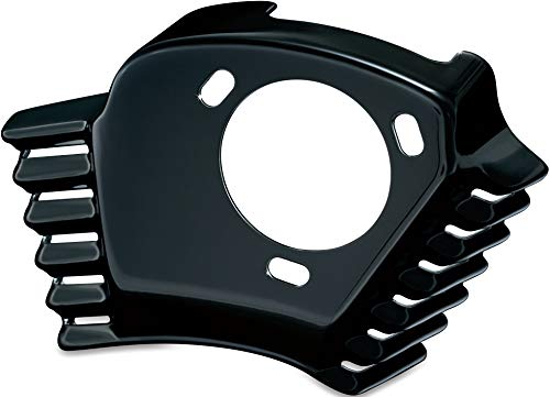 Kuryakyn 7245 Motorcycle Accent Accessory: Throttle Servo Motor Cover for 2008-16 Harley-Davidson Motorcycles with Kuryakyn Air Cleaners, Gloss Black