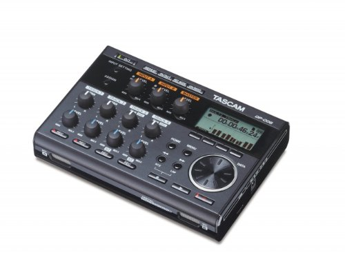 Tascam DP-006 6-Track Digital Pocketstudio with EV MUSIC 32gb SD Card and 1 Year Free Extended Warranty