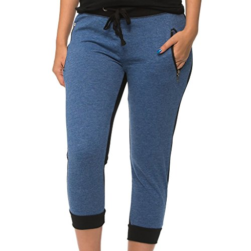 Drawstring Cropped Jeans - 9