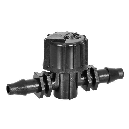 ANTELCO BALL VALVE MICRO 4MM THREAD VARI-FLOW VALVE FOR MICRO IRRIGATION SYSTEMS PACK OF 5