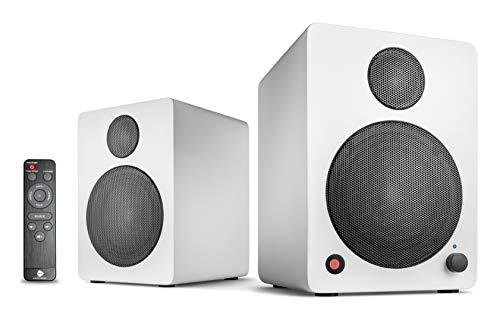 wavemaster CUBE MINI NEO White – sprekersysteem (36 Watt) met Bluetooth streaming, digitale aansluiting en IR…
