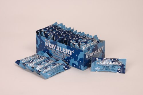 STAY ALERT Military Caffeine Energy Gum