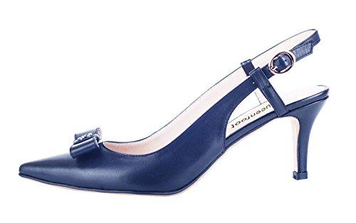 Femme A Bas navy Bowtie Pump6027 Queenfoot qE6w1U77A