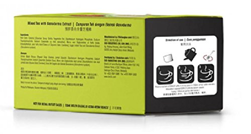 MUST BUY ! 15 Box DXN Lingzhi Tea Latte with Ganoderma Extract ( Total : 180 sachets X 30 g/bag ) by DXN (Image #1)
