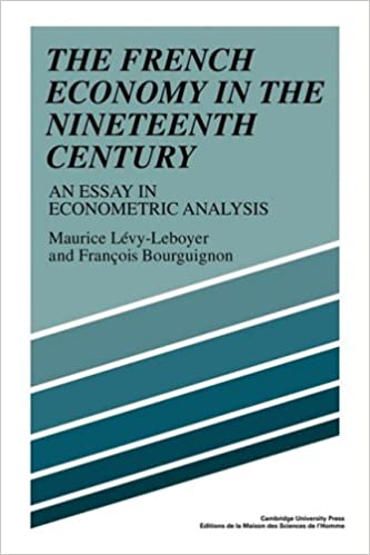 Book The French Economy in the Nineteenth Century: An Essay in Econometric Analysis