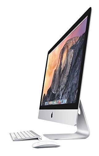 Apple iMac 27'' Desktop with Retina 5K display - 4.0GHz Intelquad-core Intel Core i7, 3TB Fusion Drive, 32GB 1600MHz DDR3 Memory, R9 M295X 4GB GDDR5, Mac OS X Yosemite, (NEWEST VERSION) by Apple (Image #1)