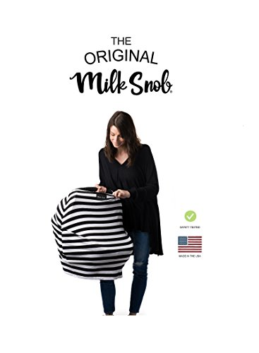 AS SEEN ON Shark Tank The Original Milk Snob Infant Car Seat Cover and Nursing...
