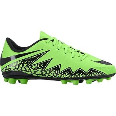 new arrival 4eade 0d5a3 ... official nike jr hypervenom phelon ii ag botas para niño color verde  negro 0dd85 91457