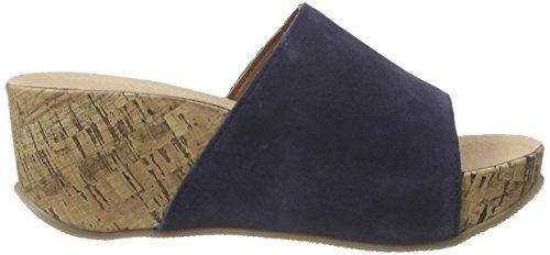 Blau 017 Pantolette Conti Dunkelblau Andrea Tw0zRqYg