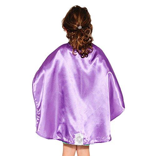 Purple Polyester Satin Superhero Cape - Kids (Superwoman Costumes For Girls)