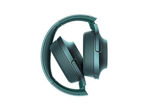Sony H.ear on Wireless Noise Cancelling Headphone, Viridian Blue (MDR100ABN/L)