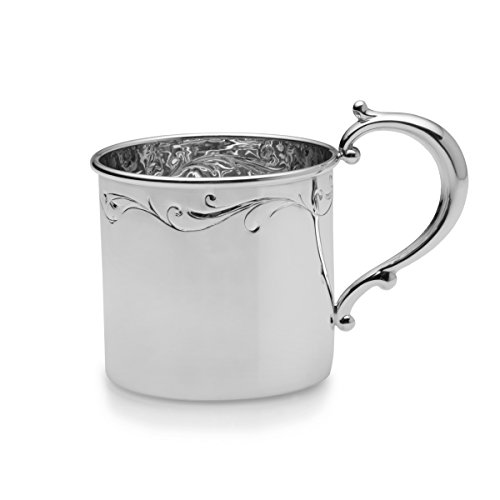 Empire Floral Sterling Heavy Baby Cup by EMPIRE (Image #1)