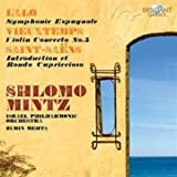 Lalo: Symphonie espagnole / Saint-Sa??ns: Introduction et Rondo capriccioso / Vieuxtemps: Violin Concerto No. 5 by Shlomo Mintz (2010-06-03)