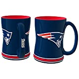 Boelter NFL Sculpted Coffee Mug, 15 Ounces, New