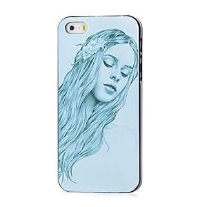 MOFY-Caso duro del patr—n de la muchacha para el iphone 5 / 5s