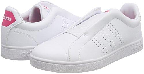 Rosrea 000 Ftwbla Adidas ftwbla Chaussures Femme Fitness Blanc Advantage De Adapt navgznqR