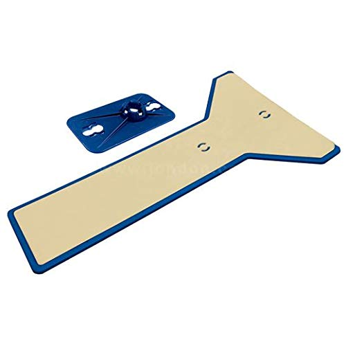 ZipWall Edge Head & Non‑Skid Plate (3 Units)
