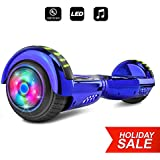 CHO Spider Wheels Series Hoverboard UL2272 Certified Hover Board Electric Scooter with Built in Speaker Smart Self Balancing Wheels