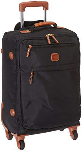 Amazon.com | Bric's 21 Inch Carry On Spinner, Black, | Carry-Ons
