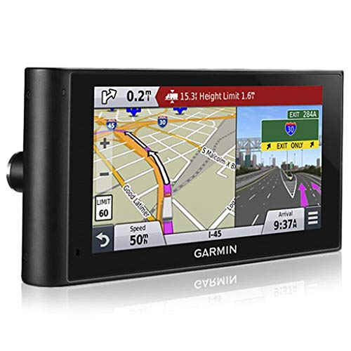 Garmin dezlCam 6-Inch LMTDH Truck GPS with Voice-Activated Navigation for 10x Faster Traffic System
