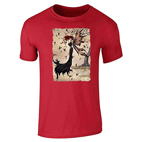 Mystique by Amy Brown Art Red S Short Sleeve ()