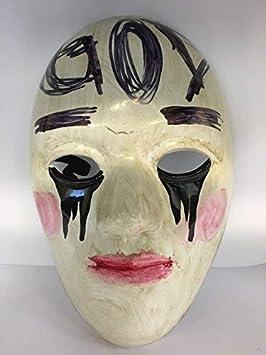 WRESTLING MASKS UK la Purga Dios Anarquía Película Cosplay Máscara con Correa Elástica