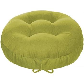 Amazoncom 13 Round Barstool Cushion with Adjustable Drawstring