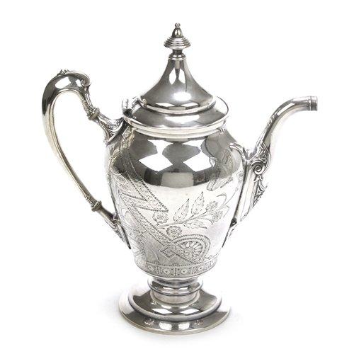Coffee Pot by Reed & Barton, Silverplate