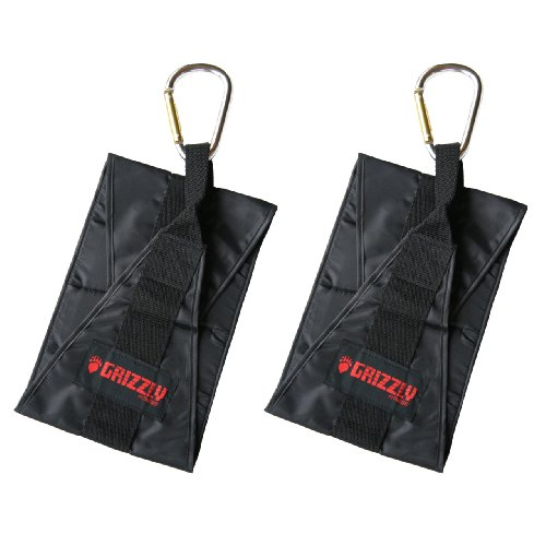 Grizzly Fitness Deluxe Hanging Ab Straps by Grizzly Fitness