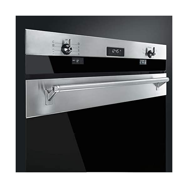 Smeg SOU330X1 Classic Aesthetic 30-Inch Stainless Steel Electric Multifunction Wall Oven 5