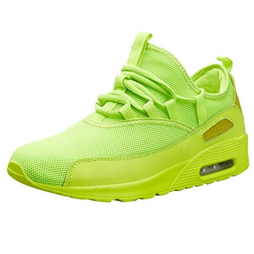 Lj891 Runing Aire Verde Zapatillas Malla Transpirables De Moda Deporte Pareja Casuales Zapatos Libre Al Deportivos OqwxzTEF
