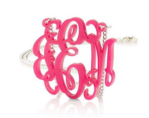 Monogram Necklace 1 6 Custom Made product image