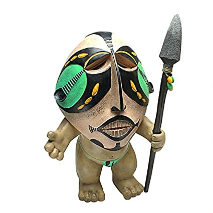 Amazon.com: Design Toscano ibo-odo, el jardín Pygmy Estatua ...