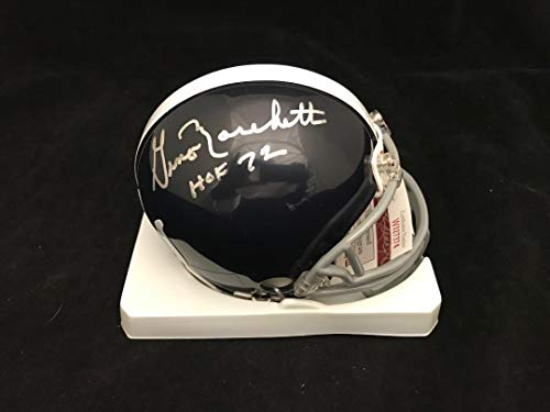 GINO MARCHETTI BALTIMORE COLTS Signed Autographed Mini Helmet JSA ()