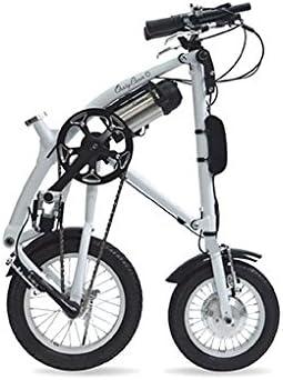 Ossby Curve On Bicicleta Plegable eléctrica, Unisex Adulto, Blanco ...