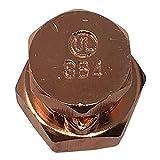 100 pcs Copper High Strength Split Bolt Connectors